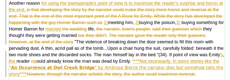 an analysis of the short story of a rose for emily A rose for emily character analysis term papers analyze one of william faulkner's most enduring short stories.