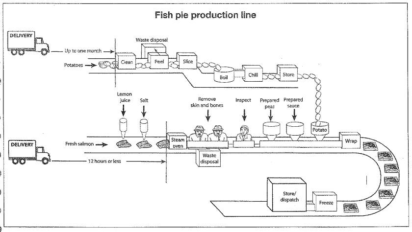 Manufacturing steps from raw material to ready for distribute manufacturing steps from raw material to ready for distribute frozen fish pies ccuart Image collections